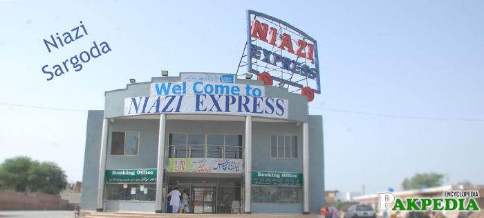 Niazi Express in Sargodha
