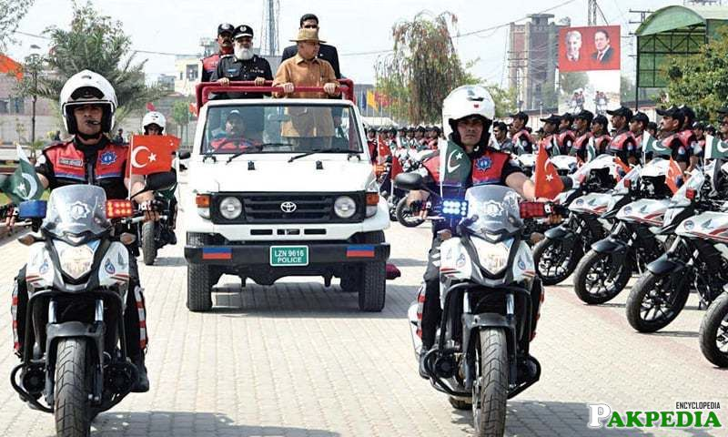 CM Shebaz Sharis at Dolphin Force Complex