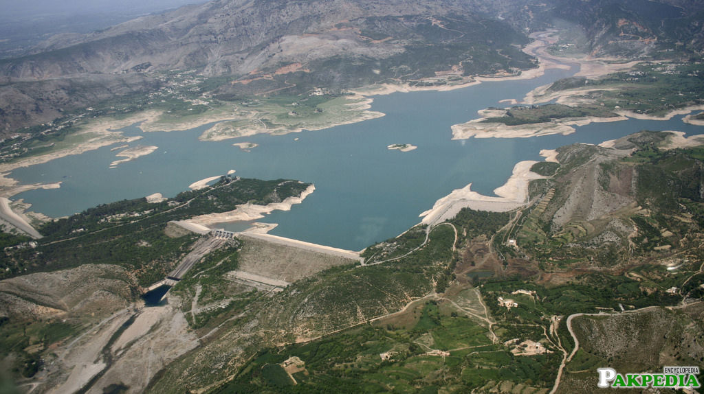 Khanpur Dam Areal View