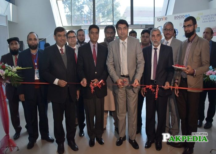 Yasir Humayun at the inauguration of IEEE