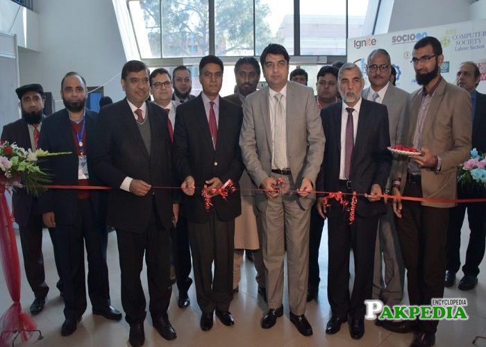 Yasir Humayun at the inauguration of IEEE