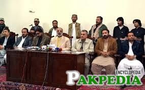 Fateh Muhammad Hassani at Press Conference