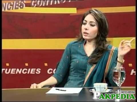 Sharmila Farooqi In talk show