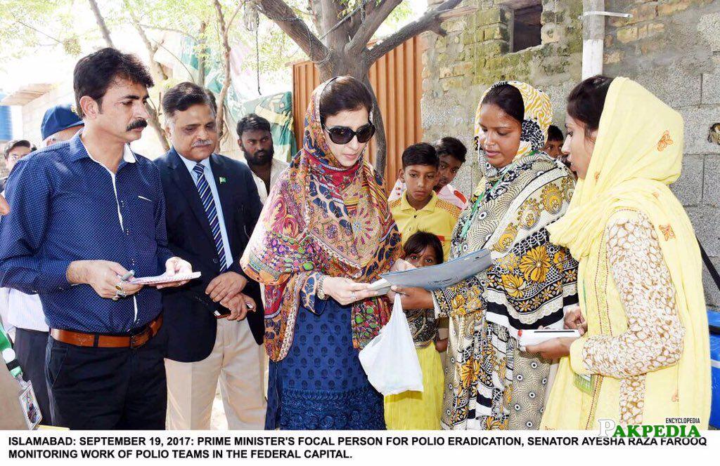 during Polio campaign