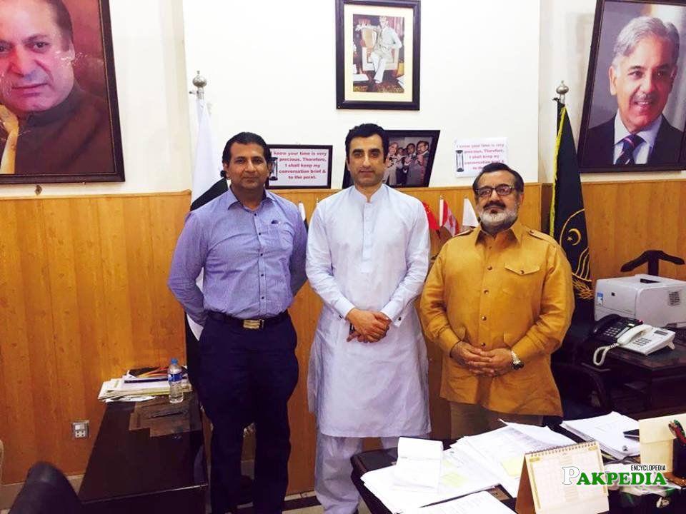 At CM Secretariat Lahore