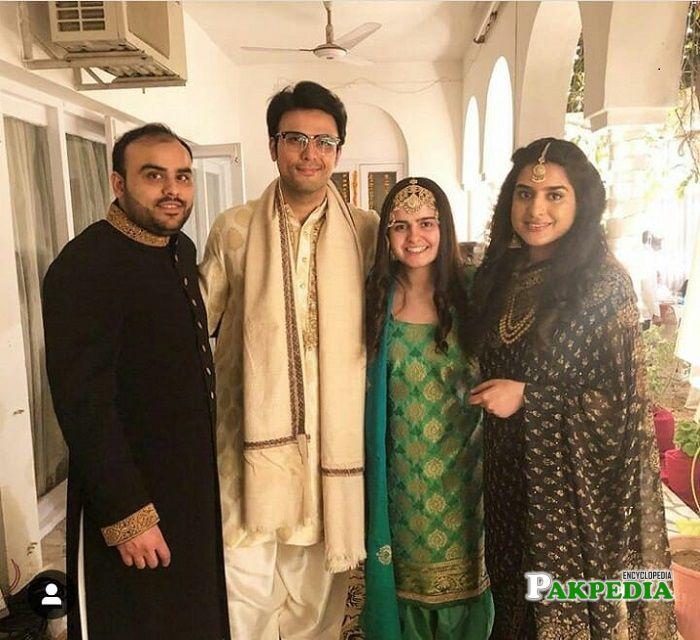 Usman Mukhtar family