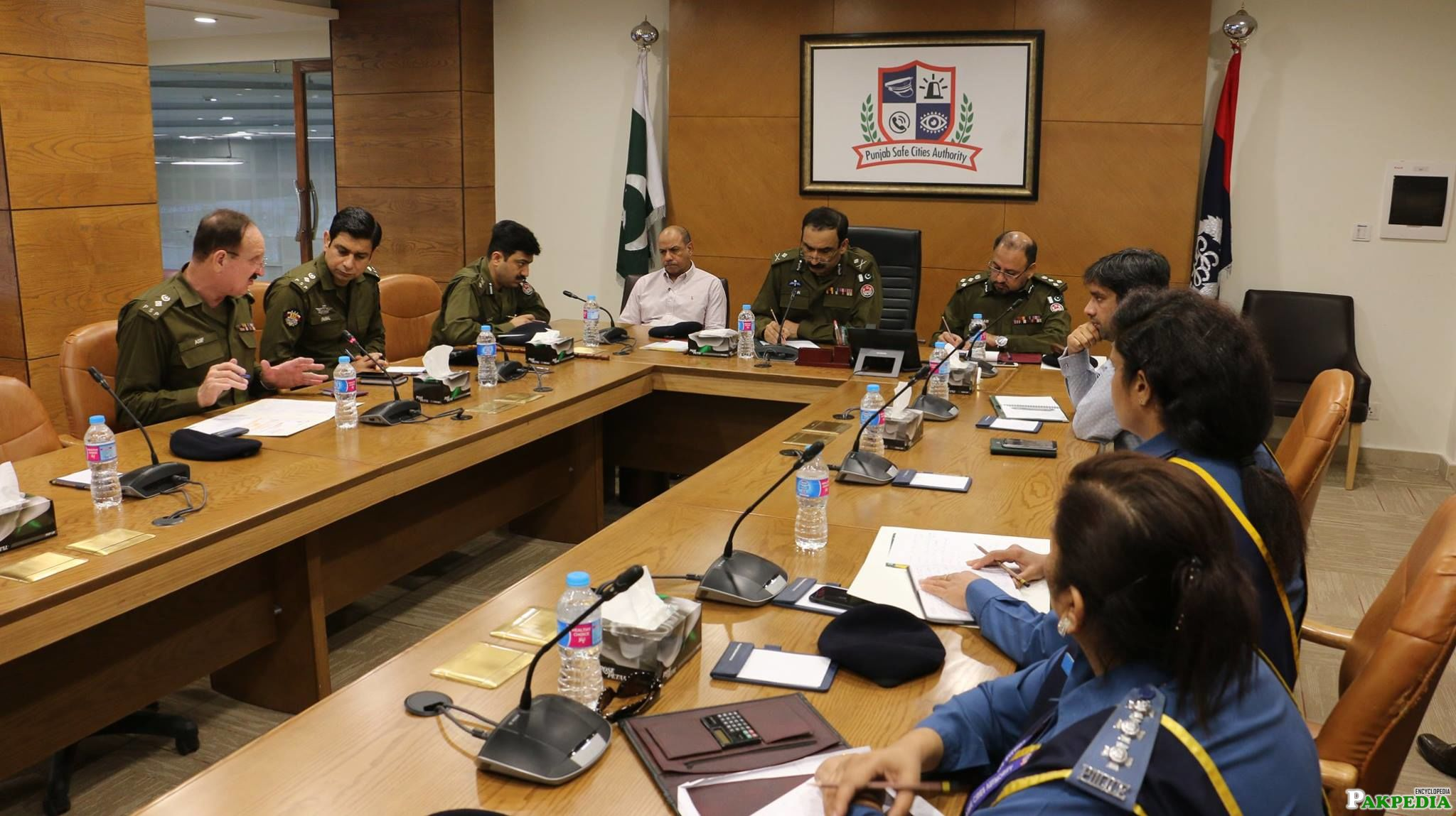 Meeting at PSCA Lahore