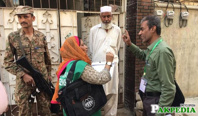 They include 2,072 census enumerators and 425 supervisors who went door-to-door to count homes and buildings