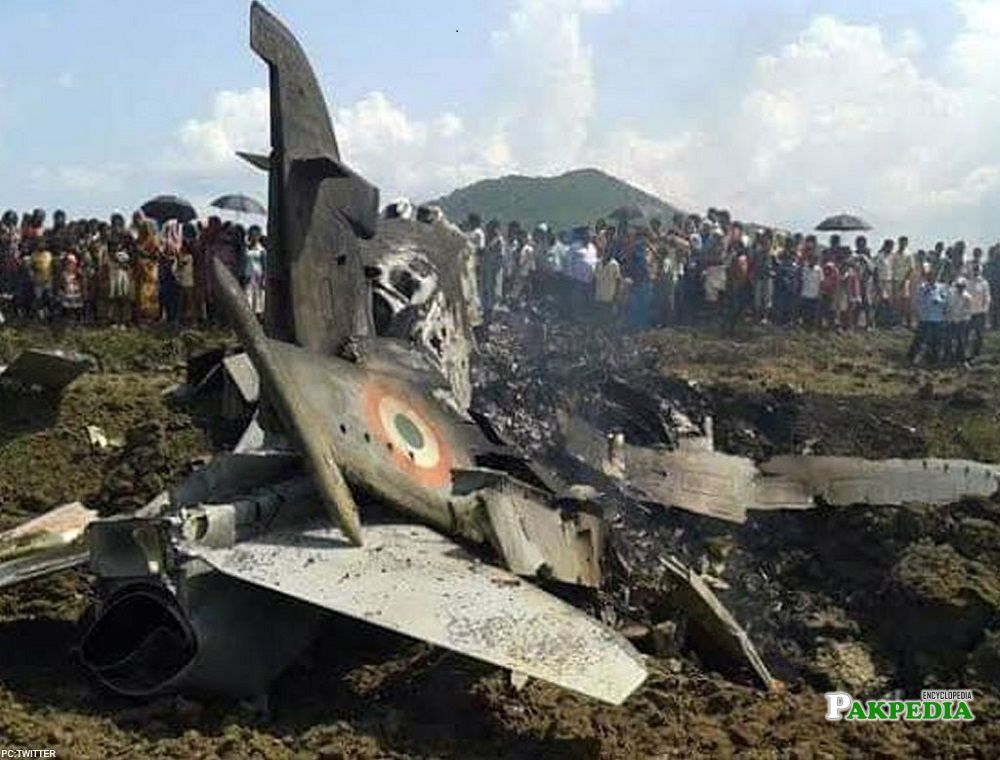 Hassan Siddiqui shot down 2 indian jets
