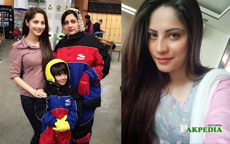 Neelam Munir family