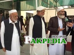 With Siraj ul Haq