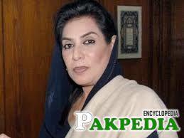 Fahmida Mirza in her office