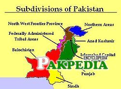 Subdivision of Pakistan