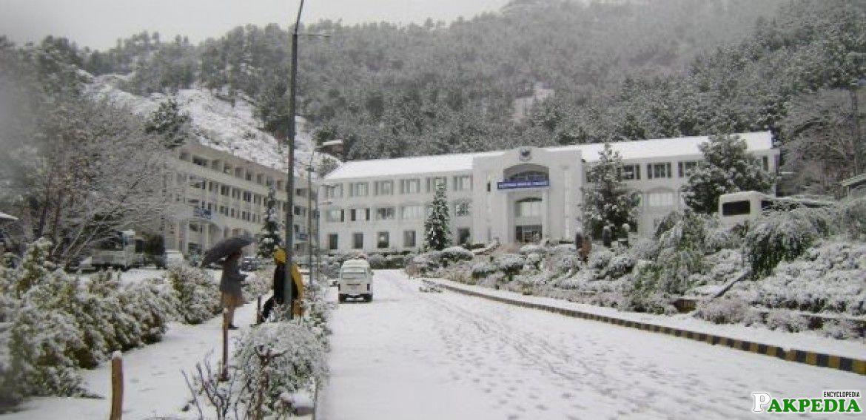 Abbottabad College Building