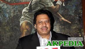 Squash World Champion Jahangir Khan... ... from Pakistan