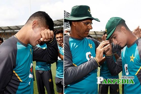 Naseem Shah burst into tears after receiving the new of his mothers demise