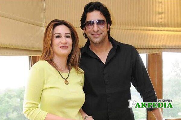 Wasim Akram first wife