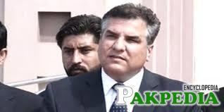 Daniyal Aziz member of PML-N