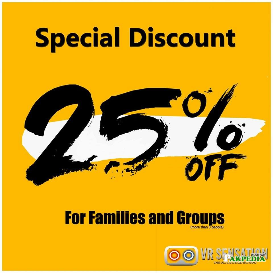 Discount for families