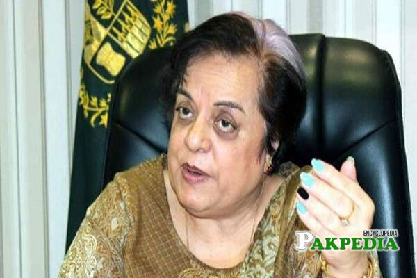 Shireen Mazari Biography