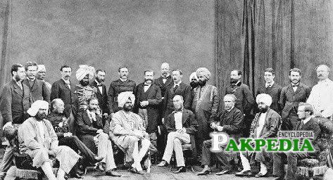 Meeting of congress and Muslims with Morley