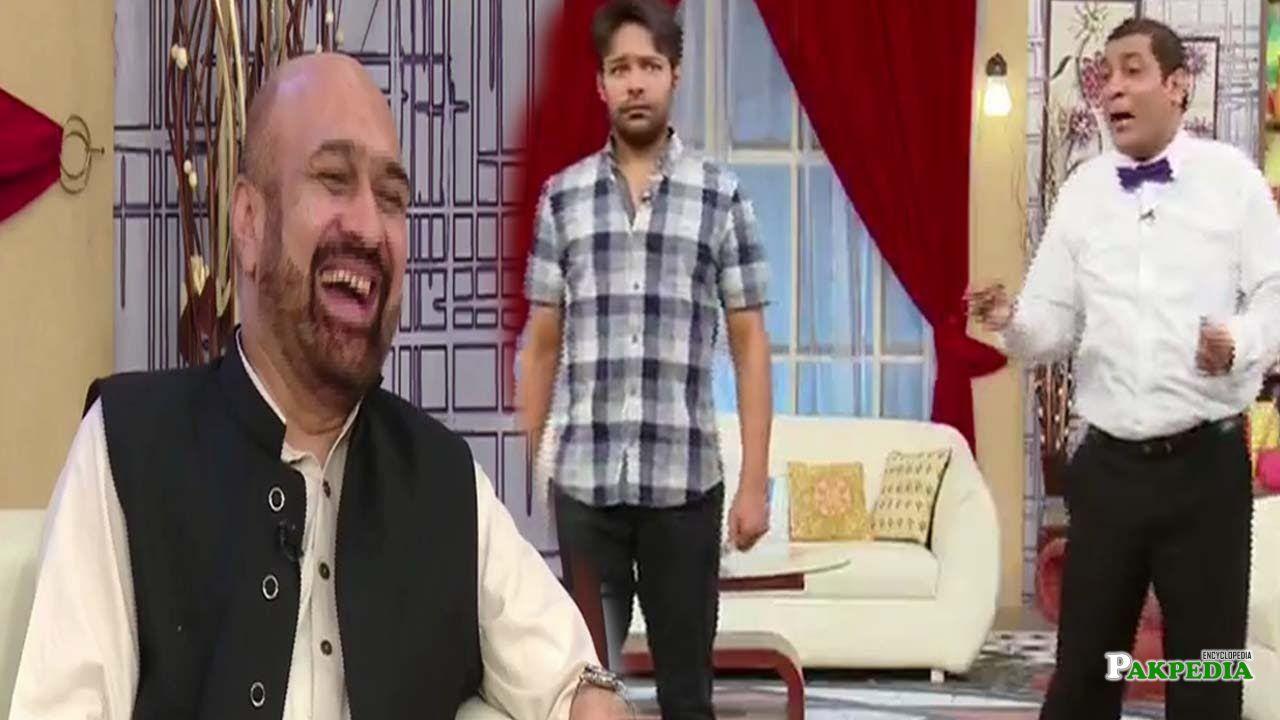 Rizwan razi in a comedy show 'sawa teen'