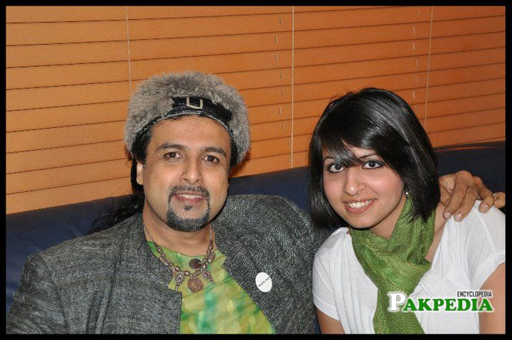 Salman Ahmad With his Friend