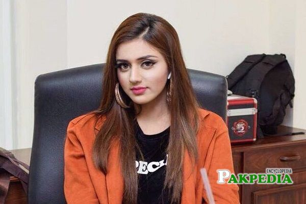 Tik Tok star Jannat Mirza