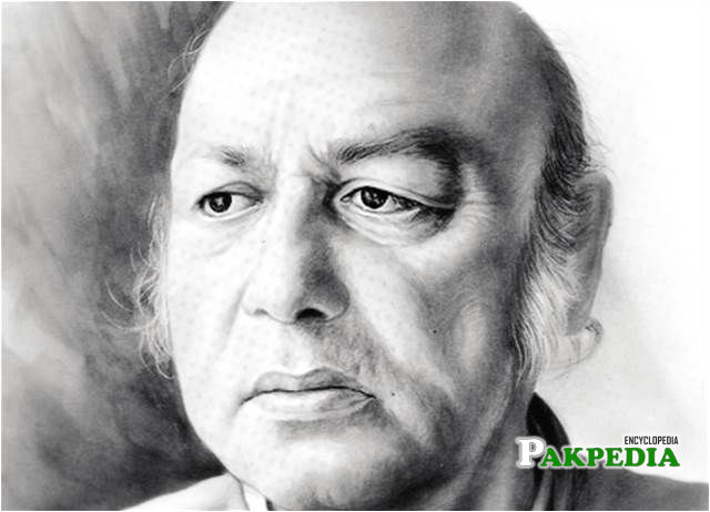 Famous writer Habib jalib