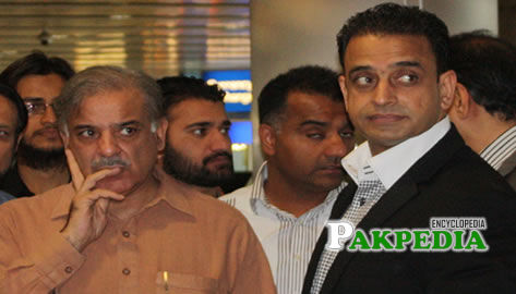 With Shahbaz Sharif