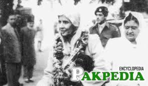 A n historical photo of Fatima Ali Jinnah