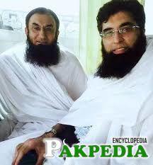 Junaid Jamshed with Tariq Jameel