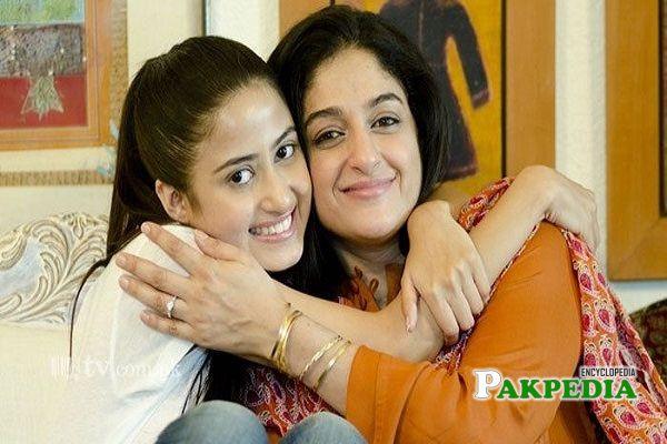 Nadia Jamil and Sajal Ali
