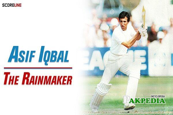 Asif Iqbal Razvi cricketer