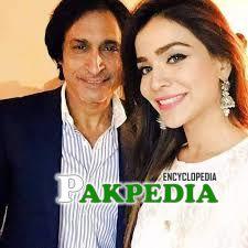 With Humaima Malik