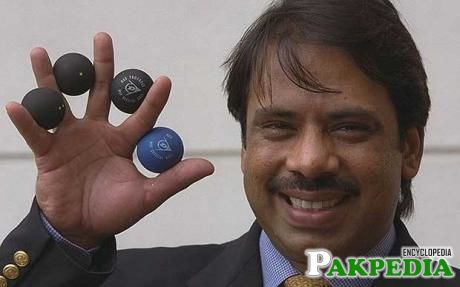 Jahangir Khan, born on December 10, 1963, in karachi, is a former World number 1 professional Squash player from Pakistan.