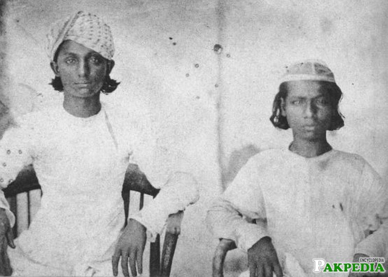 Sons of Last Mughal King Bahadur Shah Zafar - Mirza Jawan Bakht (Left)