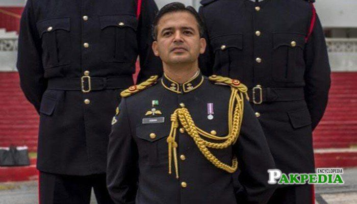 Pakistan military officer