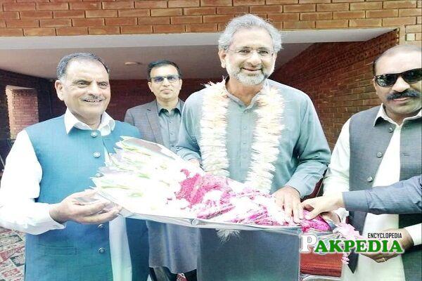 Raja Muhammad Javed Ikhlas party