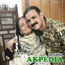 Asim Saleem Bajwa with his Mother