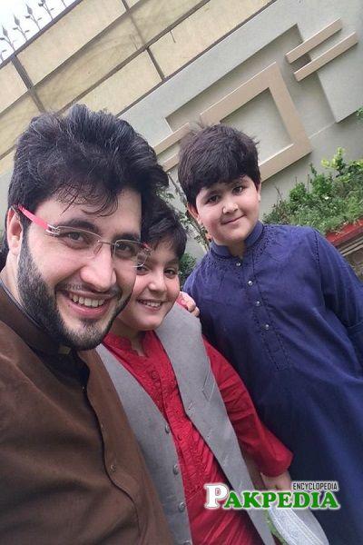 Javed Afridi Family