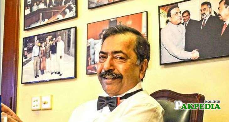 Fazalur Rehman apponted as a caretaker