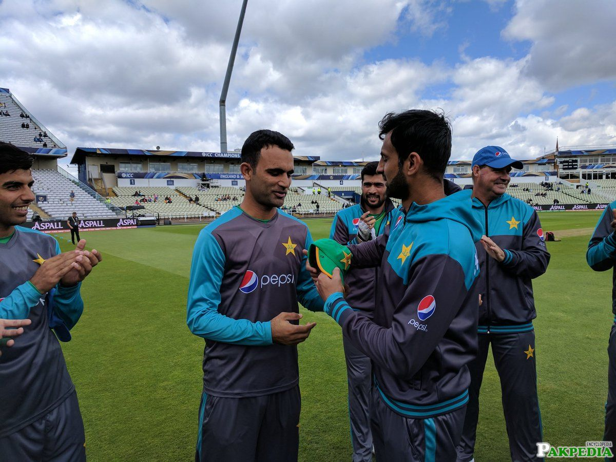 Fakhar Zaman And Team