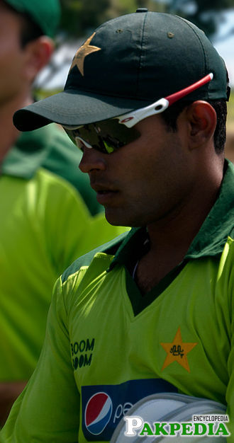 Umar Akmal in New Zealand