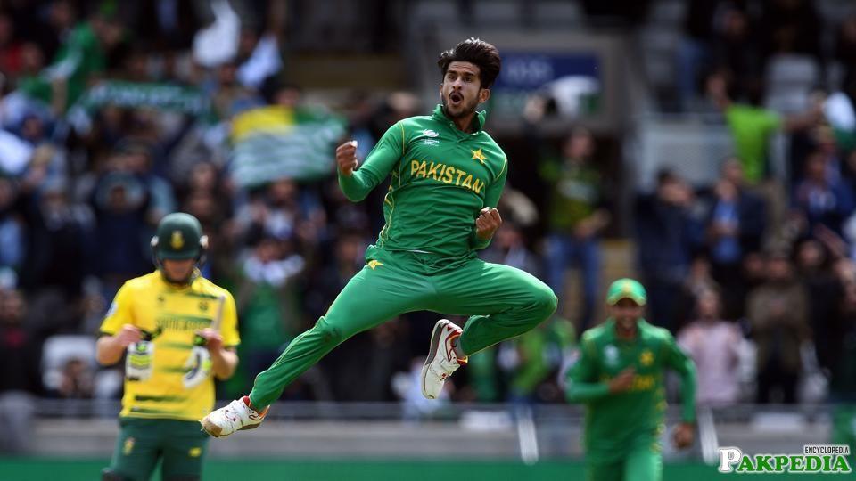 Hasan Ali was Very Happy