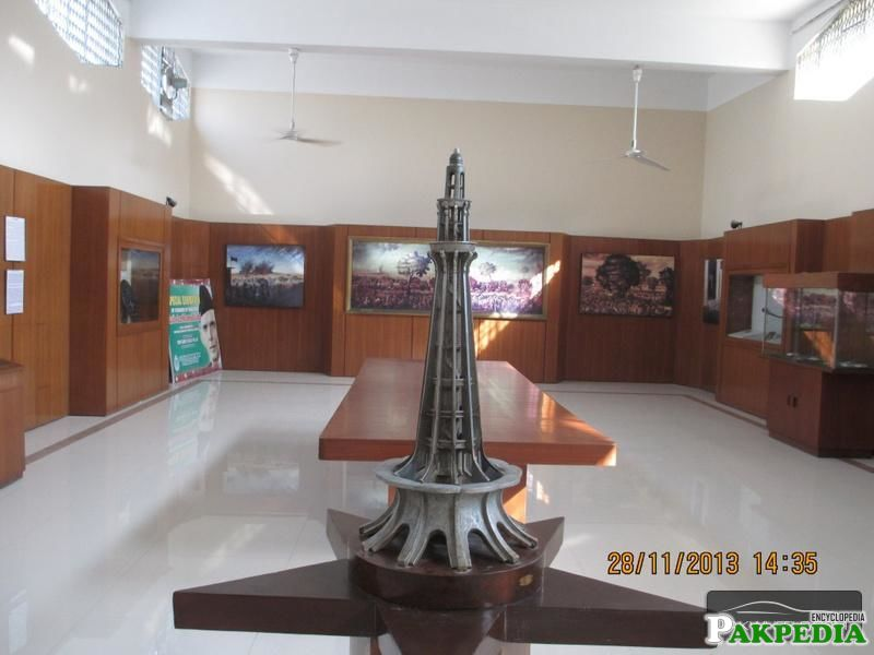 Interior view of national museum of Pakistan