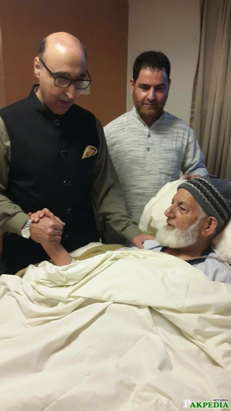 Syed Ali Shah Geelani Illness