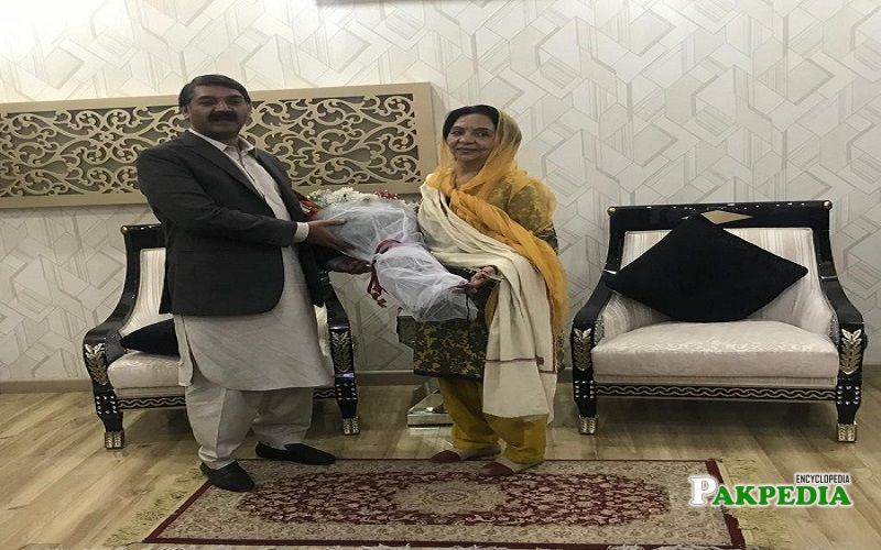 Farhat Farooq won the seat of MPA in 2018 Elections