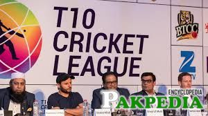 T-10 league management in press confrence