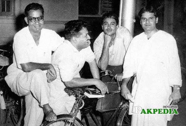Ibne Insha, Ashfaq Ahmed, Munir Niazi and A Hameed